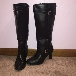 NWOT Chaps leather boots
